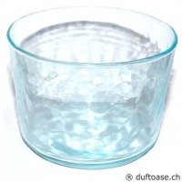 Glas türkisfarben 7,5 x 6 cm