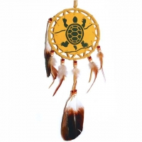 Mandala Glücksschild B 15,5cm / L 53cm Schildkröte