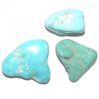 Türkis ca. 1 - 2 cm türkis blau