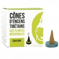 Gleichgewicht - Tibetische Räucherkegel