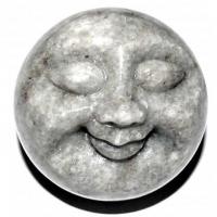 Happy Face Mondgesicht ca. 5 cm Christallina Marmor Schweiz