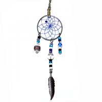 Indianerschmuck Halskette Traumfänger rund