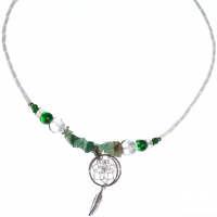 Indianerschmuck Halskette Aventurin