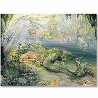 Dreams of Atlantis - Karte Josephine Wall 18,4 x 13,7 cm mit Couvert
