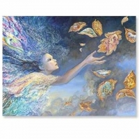 Catching Wishes - Karte Josephine Wall 18,4 x 13,7 cm mit Couvert