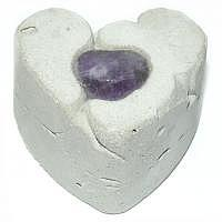Amethyst Herz ca. 2,5 cm