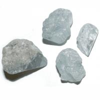 Coelestin roh ca. 1 - 1,5 cm Aqua Aura
