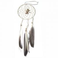 Traumfänger natur mit Libelle B 10 cm - L 37 cm