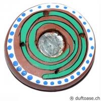 Halter Spirale Räucherkegel- Stäbchen