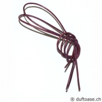 Lederband burgunder 1,5 mm, 0,8 m lang
