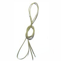 Lederband vintage-olive 1,5 mm, 0,8 m lang