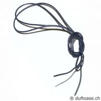 Lederband graublau 1,5 mm, 1 m lang