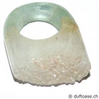 Fingerring Fluorit Grösse 57
