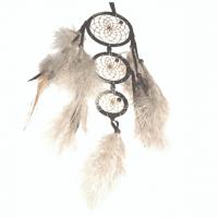 Generationen Traumfänger dunkelbraun B 6,5 cm - L 37 cm