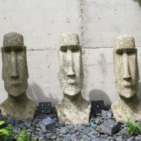 Moai Figuren Fiona Jane Scott