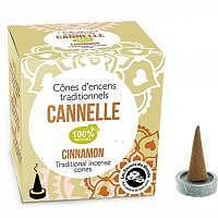 Cannelle - Sinnlichkeit Räucherkegel Indien