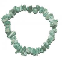 Serpentin - Stein der Harmonie - Splitter-Armband 18 cm