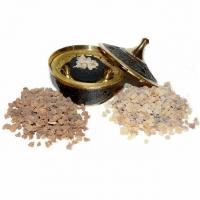 Inspirations-Set Weihrauch & Myrrhe mit Gefäss und Räucherkohle