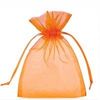 Organzabeutel orange S
