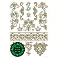 Mandala Henna Vol.2 Tattoos  - Aufkleber